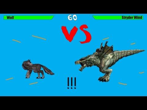 Волк против страйдера в Lineage 2