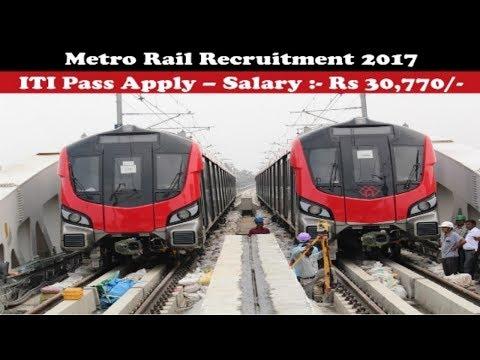 Metro Rail Corporation Recruitment 2017   Railway jobs   Latest Sarkari Naukri   Apply Now