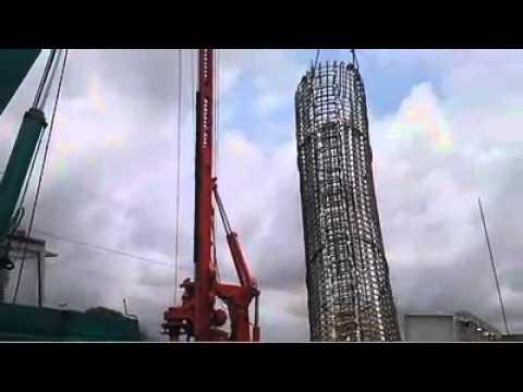 Visite sur le chantier de l'échangeur au carrefour de la Riviera 2