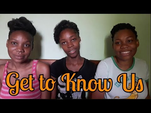 GET TO KNOW US! Our first video