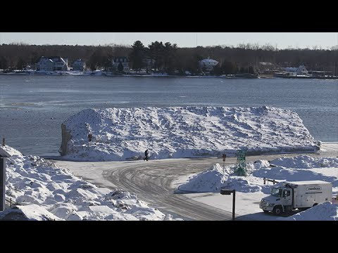 Watch A Winter's Worth Of Snow Melt In 90 Seconds