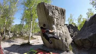 Fontainebleau 2016 - Some 7a