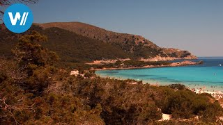 Cala Rajada - Beautiful Beaches in Mallorca (in HD 1080p)
