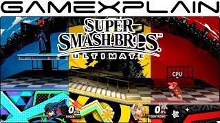 All Mementos Variants - Super Smash Bros. Ultimate (Persona 3, P4, & P5)