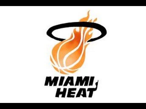 how to draw miami heat logo nba team logo youtube rh youtube com heart logos designs hat logos