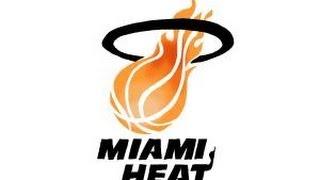 How to draw Miami Heat Logo, NBA team logo