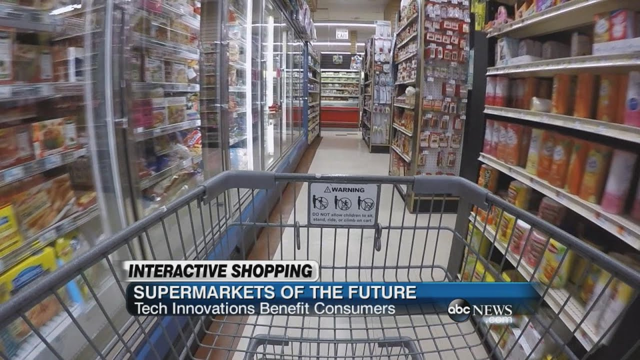 Supermarkets of the Future | ABC News - YouTube - photo#17