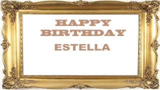 Estella   Birthday Postcards & Postales - Happy Birthday
