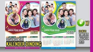 Gambar cover Desain kalender 2020 - Kreatif kalender dinding