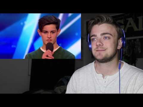 Singer songwriter Reuben Gray | Auditions Week 2 | Britain's Got Talent 2017 Reaction!