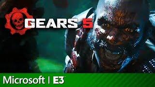 Gears of War 5 Escape Mode & Terminator Full Presentation   Microsoft Xbox E3 2019