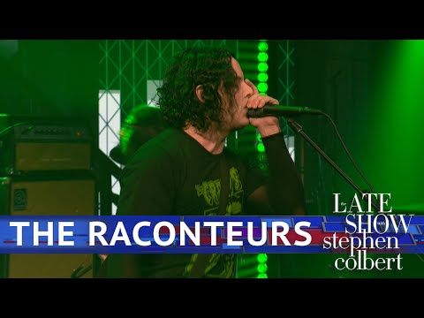 Watch the Raconteurs Deliver Fierce 'Bored and Razed' on 'Colbert'