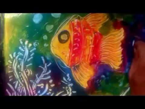 Kreatifitas Finger Painting 2 Youtube