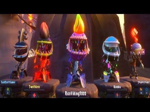 PVZ Garden Warfare 2 - LUNCHTIME AT THE LAB Mystery Portal Twothless & ZackScottGames