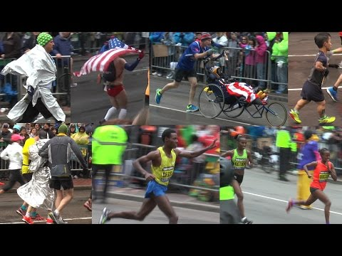 Boston Marathon 2015 - HD 1080p60 video!