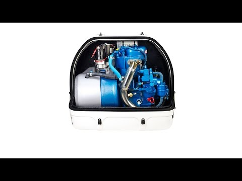 4GSCH compact marine generator, very light genset