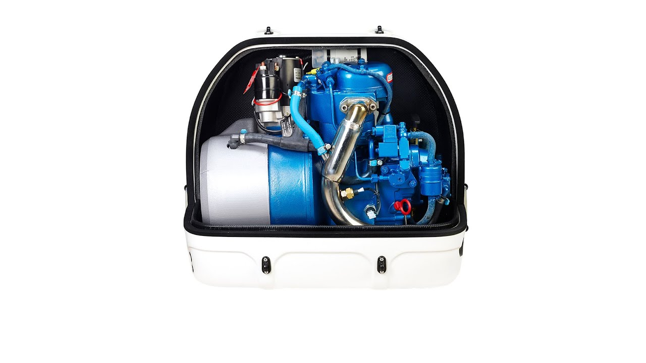 4GSCH pact marine generator very light genset