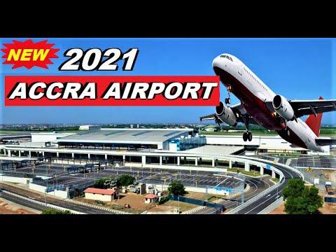 GHANA'S NEW KOTOKA INT. AIRPORT, ACCRA IN 2021.