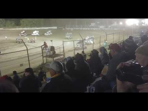 ASCS Sprint Cars B Feature, Creek County Speedway 10/12/19