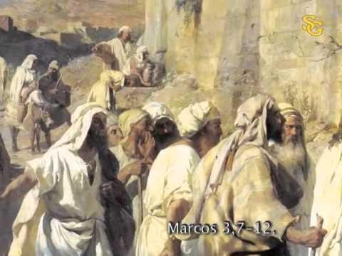 Evangelio de san marcos 3 7 12 youtube for Puerta 3 de san marcos
