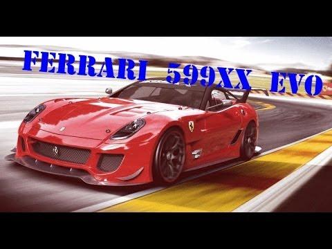 Ferrari 599XX EVO ♣ The Movie