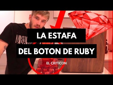 Thumbnail: LA ESTAFA del boton de Ruby de Youtube
