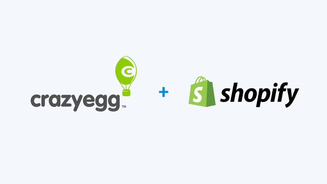 Announcing: Crazy Egg + Shopify! |