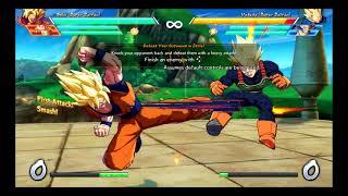 [Nintendo Switch] Dragon Ball Fighterz Beta Demo Tutorial Pt. 1 (First Try)