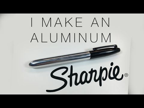 DIY Project: Aluminum Sharpie Marker