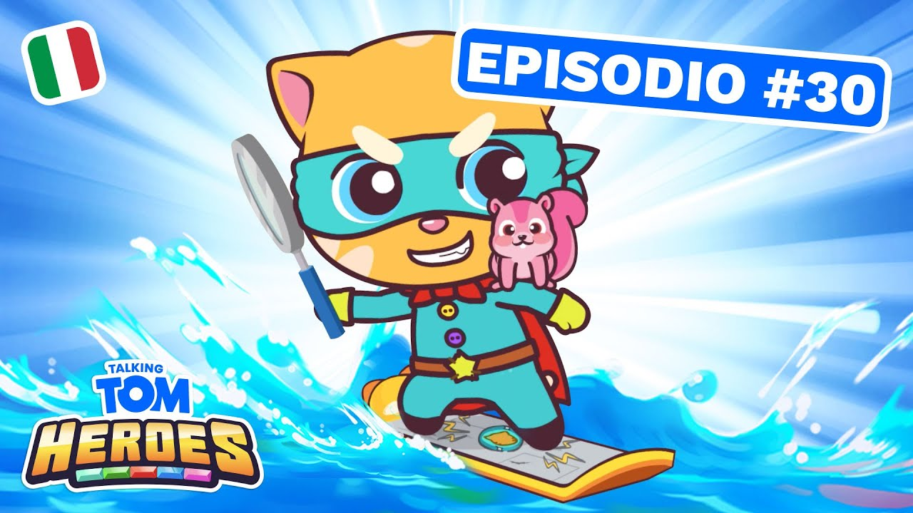 Talking Tom Heroes - Agente speciale Ginger (Episodio 30)