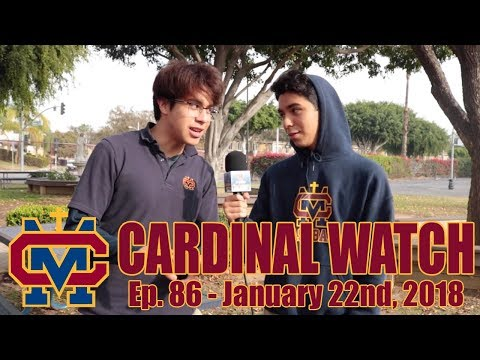 Cardinal Watch: ep. 86 - January 22nd, 2018