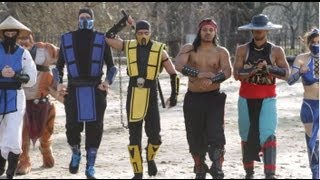 Mortal Kombat VS Street Fighter EPIC DANCE BATTLE