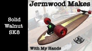 Walnut Skateboard Made By Hands