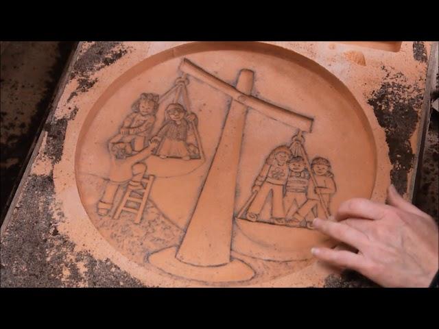 Sand Casting Aluminium Artwork Cloonakilla ns Eithne Ring Liam Lavery
