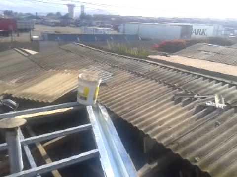 Limahoya opcion optima youtube for Canaletas para techos de madera
