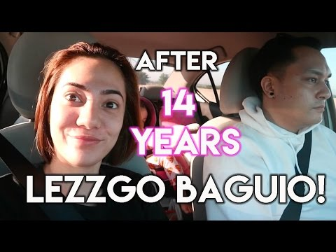 🚶🚙 ⛰ BAGUIO DAY 1 + Seeing Baguio after 14 years! | oeuvretrends