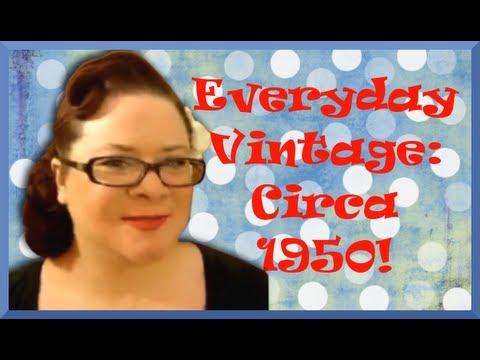 Everyday Vintage-Circa 1950