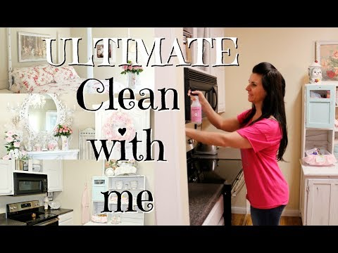 💖ULTIMATE CLEAN WITH ME ENTIRE HOUSE💖/Cleaning music