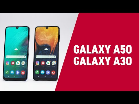 Samsung Galaxy A30 и A50: бюджетные смартфоны с характеристиками флагмана!