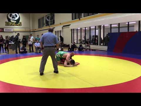 2015 Golden Bear Invitational: 100 kg Justin Ramgotra vs. Samson Swan