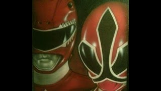 Power Rangers Super Samurai (Xbox Kinect), featuring the Red Ranger!