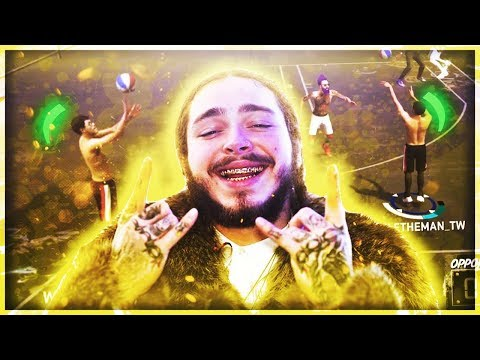 SHOOTING WITH POST MALONE'S REAL LIFE JUMPSHOT ON NBA 2K18 😱 HALF COURT GREENS W/ THE BEST JUMPSHOT
