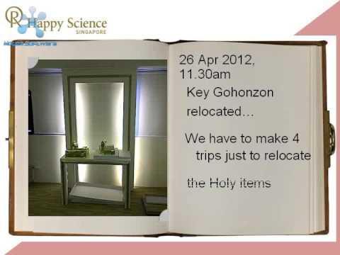 Memorable Relocation of Happy Science...