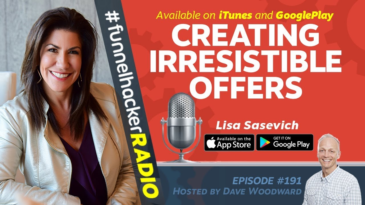 Creating Irresistible Offers - Lisa Sasevich - FHR #191