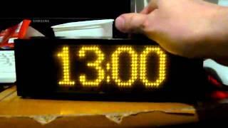 DIY Gadget LED matrix clock