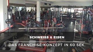Existenzgründung in der Bodybuilding-Branche – Franchise mit SCHWEISS & EISEN in 60 Sek. erklärt
