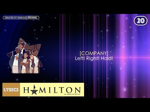 #20 Hamilton - Yorktown (VIDEO LYRICS)