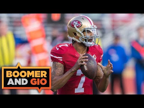 Why is the NFL hosting a PRIVATE Workout for Colin Kaepernick?  Boomer & Gio