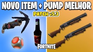 FORTNITE-PATCH 5.3 NEW ITEM + IMPROVED PUMP | BATTLE ROYALE