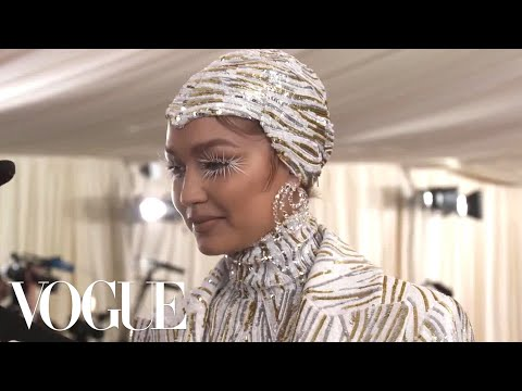 Gigi Hadid on Her Cher and Liberace-Inspired Met Gala Look | Met Gala 2019 With Liza Koshy | Vogue